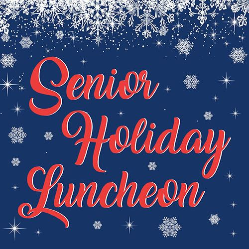 Senior Holiday Luncheon Graphic