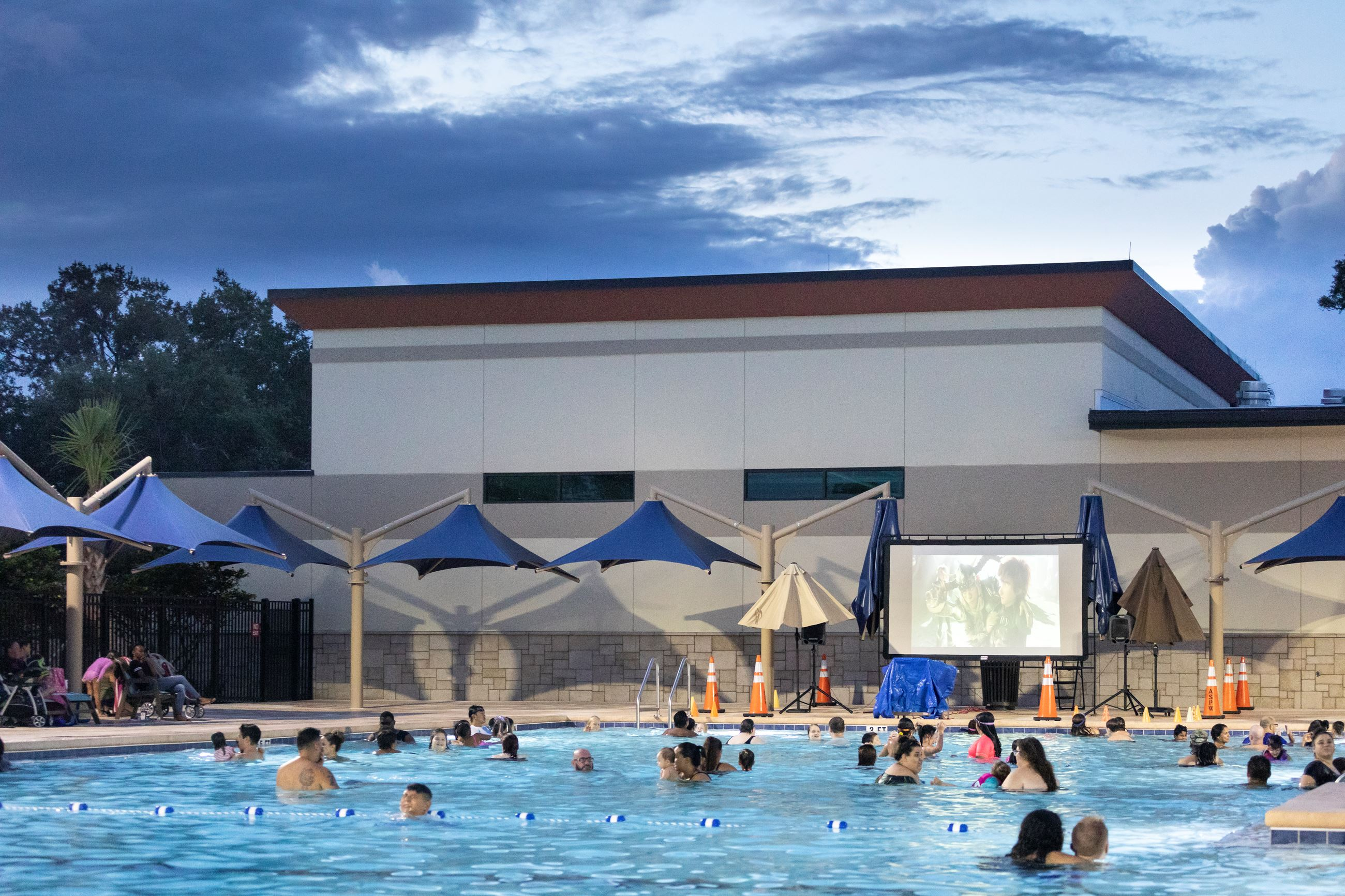 Dive-In Movie at Westmonte Outdoor Pool
